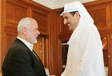 صورة هنية يدعو قطر للرقابة على الانتخابات الفلسطينية