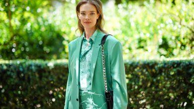 صورة عارضة الأزياء الروسية ناتاليا فوديانوفا سفيرة للنيات الحسنة