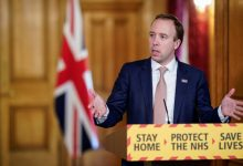 صورة وزير الصحة البريطاني: نأمل التعايش مع كورونا مثل الإنفلونزا نهاية العام