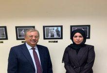صورة لأول مرة منذ المصالحة.. اجتماع سفيرا قطر والسعودية