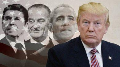 صورة استطلاع يظهر أفضل وأسوأ رئيس للولايات المتحدة