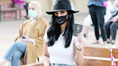 صورة الكويتيات خارج مجلس الأمة