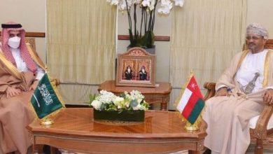 صورة وزيرا خارجية عمان والسعودية يؤكدان على أهمية العمل الخليجي المشترك