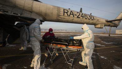 صورة سقوط مروحية روسية في سوريا وموسكو تتحدث عن هبوط اضطراري