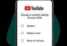 """صورة """"يوتيوب"""" تطلق ميزة تسمح للآباء بالتحكم بما يشاهده أطفالهم وفقا لأعمارهم"""