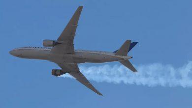 صورة بعد حادثة دنفر.. توصية عاجلة من بوينغ بشأن طائرات 777 إس