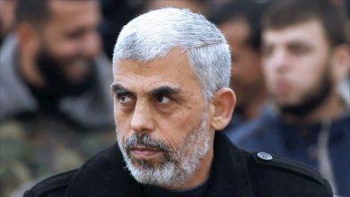 صورة من هو يحيى السنوار قائد حماس بغزة