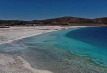 صورة بحيرة تركية تحير العلماء..