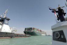 صورة أكثر من 120 سفينة عبرت قناة السويس بعد استئناف الملاحة