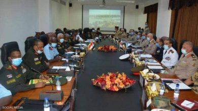صورة لمواجهة تحديات مشتركة.. مصر والسودان يبرمان اتفاقية عسكرية