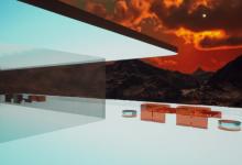 """صورة بالصور: وسط مشاهد رائعة.. بيع """"منزل افتراضي"""" على المريخ"""