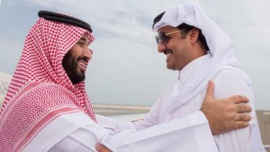 صورة مباحثات بين السعودية وقطر حول مواجهة التحديات البيئية