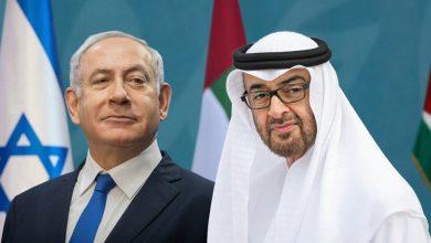 صورة نتنياهو في الإمارات يوم الخميس