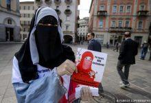 صورة حظر النقاب في سويسرا