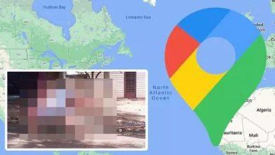 """صورة خرائط """"غوغل"""" تلتقط صورة غير متوقعة لفتاة!"""
