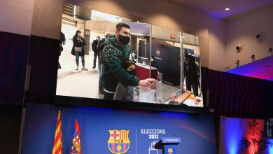صورة هل يرحل ميسي عن برشلونة؟