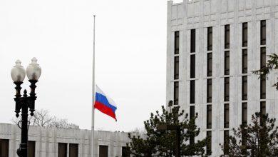 صورة أمريكيون يعتذرون للسفارة الروسية عن تصريحات بايدن