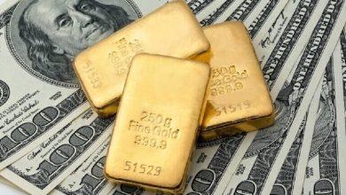 صورة هبوط أسعار الذهب والمعادن النفيسة يدفع الدولار للصعود