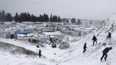 صورة العثور على 4 سوريين توفوا بسبب البرد بلبنان