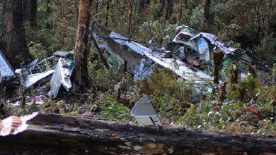 صورة قتلى في تحطم طائرة مدنية في المكسيك
