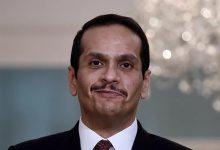 صورة بالفيديو.. وزير الخارجية القطري: نرفض التدخل الخارجي في شؤون الدول العربية
