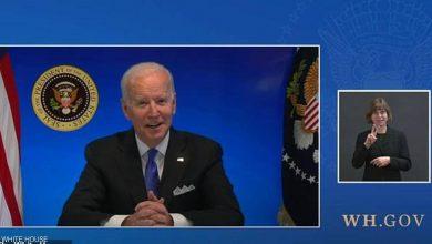 """صورة البيت الأبيض ينهي """"بشكل مفاجئ"""" بثًا مباشرًا للرئيس جو بايدن"""
