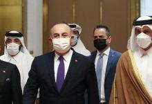 صورة وزير الخارجية القطري يشيد بالشراكة الوثيقة مع تركيا
