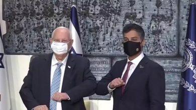 صورة الرئيس الإسرائيلي يدعو ولي العهد محمد بن زايد لزيارة إسرائيل