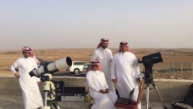 صورة تعذر رؤية هلال شهر شعبان في السعودية