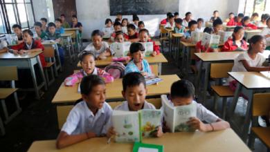 صورة حظر العقاب في المدارس الصينية