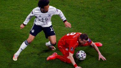 صورة سقوط لألمانيا في تصفيات مونديال قطر 2022