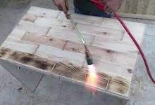 صورة للحرق على الخشب اختار قطعة ذات لون فاتح