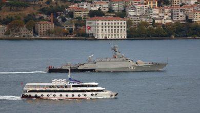صورة واشنطن ترسل سفينتين حربيتين إلى البحر الأسود