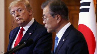 صورة ترامب: رئيس كوريا الجنوبية ينهبنا.. وبايدن يتساهل معه