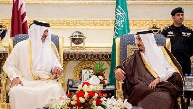 صورة للمرة الأولي أمير قطر يهاتف الملك سلمان منذ مصالحة الخليج