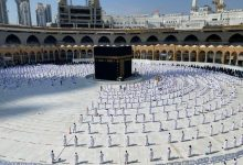 صورة المسجد الحرام 1.5 مليون معتمر ومصلٍ خلال رمضان