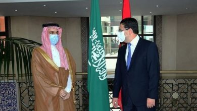 صورة السعودية والمغرب يبحثان القضية الفلسطينية والعلاقات الثنائية