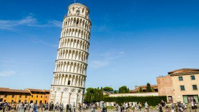 صورة تعرف على برج بيزا المائل