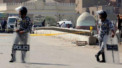 صورة نبش قبر سيدة مصرية وحرق جثتها