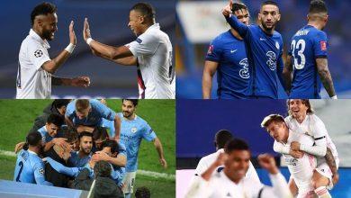 صورة مواعيد مباريات نصف النهائي لدوري أبطال أوروبا