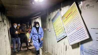 صورة ارتفاع ضحايا حريق مستشفى في بغداد إلى 82 قتيلا