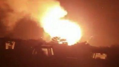 صورة انفجار ضخم يهز صنعاء