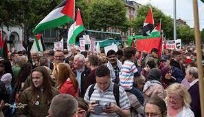 صورة بالفيديو: مظاهرات في نيويورك وواشنطن دعما للفلسطينيين وتنديدا بالاحتلال الإسرائيلي