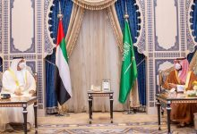 صورة بالصور: محمد بن سلمان ومحمد بن زايد يلتقيان في جدة