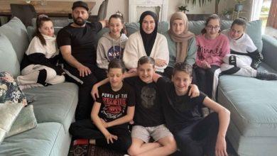 صورة أم ألمانية لتوأم سداسي تتحدث عن اعتناقها الإسلام