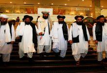 صورة اجتماع خماسي في الدوحة يدعو الأطراف الأفغانية لإحراز تقدم نحو التسوية