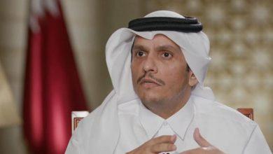 صورة وزير خارجية قطر: لا أحد فوق القانون وجاري التحقيق مع وزير المالية