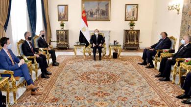 صورة السيسي للمبعوث الأميركي: سد النهضة قضية وجودية لمصر