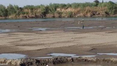 صورة نهر الفرات يلفظ أنفاسه الأخيرة
