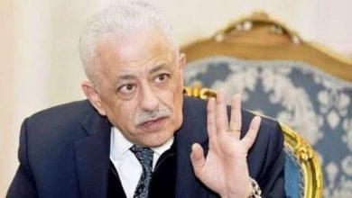صورة وزير التعليم المصري للطلبة: استعدوا للامتحانات بطريقة شيقة